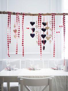 Homespun With Love: 38 Scandinavian Christmas Decorating Ideas