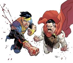 Invincible and Omni-man by RyanOttley on deviantART