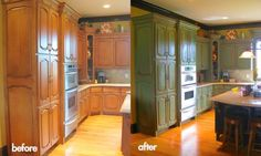 This site has TONS of before and after photos of various rooms...great ideas