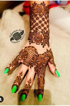 Floral Henna Designs, Best Mehndi Designs, Simple Mehndi Designs, Mehandi Designs, Mehndi Design Pictures, Mehndi Images, Pakistani Henna Designs, Design Page, Henna Patterns