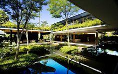 """シンガポールをベースに活動する建築事務所、Guz Architectsが手がけた、緑あふれる""""禅"""" …"""