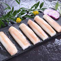 High quality frozen Alaska Pollock portions from Dalian Yihe Food Co. Pollock Recipes, Dalian, Hot Dogs, Alaska, Frozen, Cooking Recipes, Nutrition, Ethnic Recipes, Food