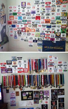 23 Cool Race Bib Collections | Runner's World
