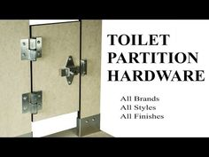 Best Bathroom Partitions Stalls Images On Pinterest Bathroom - Bathroom partition hardware