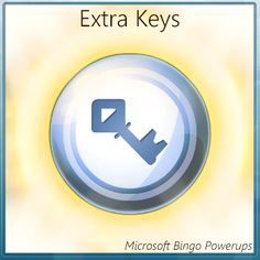 Adds extra key game tiles to your Microsoft Bingo board. If the number is called on these tiles and you daub the tile, you will get extra coins at the end of the match.