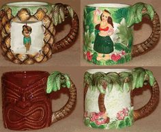 Hawaiian Coffee Mugs