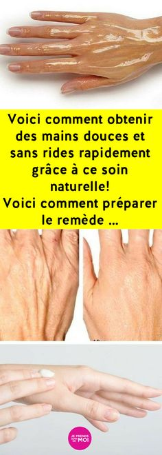 Here& how to get soft, wrinkle-free hands quickly with this natural care! Here& how to prepare the remedy . Beauty Care, Diy Beauty, Beauty Hacks, Delta Force, Nail Care, Maine, Cancer, How To Get, Voici