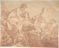 After François Boucher (French, 1703–1770). Aurora and Cephalus, mid 18th century. The Metropolitan Museum of Art, New York. Gift of Mrs. Charles S. Sargent and Mrs. Arthur L. Devens, in memory of their mother, Mrs. James W. Markoe, 1962 (62.68.3)