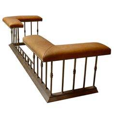 Regency Style Hand Crafted Club Fender | From a unique collection of antique and modern club chairs at http://www.1stdibs.com/furniture/seating/club-chairs/