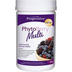 Progressive PhytoBerry Multi Nutritional Supplements - Anti Aging - Health Conditions | Body Energy Club Supplements