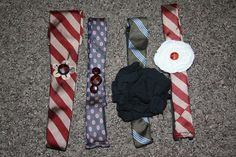 Trendy Treehouse: Headbands from Men's Ties