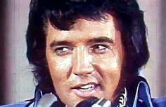 Elvis in june 9 1972 at the famous Madison Square Garden press conference.