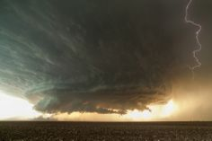 Mesocyclone, Booker, TX.