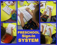 Fine Motor Development in Young Children, Daily Sign-in System for Preschool