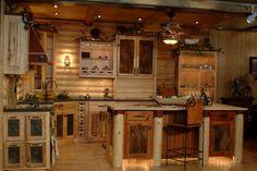 Log Cabin Kitchens traditional kitchen