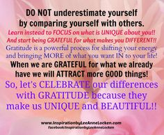 """#CELEBRATE what makes you.. #YOU!! #BeUNIQUE  ✔ Like ✔ """"Share"""" ✔ Tag ✔ Comment ✔ Repost ✔Follow #inspirationalquote #motivationalquotes #empowermentquotes #quotestoliveby #lifelessons #successtips #findingpeace #quoteoftheday #motivational #inspirational #quotesonlife #motivation #inspiration"""