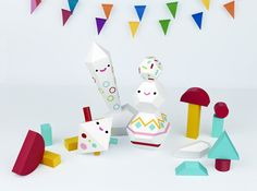 Lucky Toys by Lobulo Design, via Behance