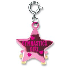 The perfect ode to your gymnastics girl! Make this charm the latest addition to her collection and she'll feel like she just won the gold! WARNING: CHOKING HAZARD - small parts. Not for children under