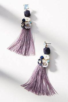 Bouquet Tassel Drop Earrings