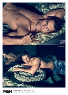 David Gandy (I think I'm in love with those gorgeous eyes :)