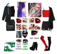 Joker's Daughter v.s Harley Quinn's Daughter Disney Bound Outfits Casual, Tomboy Outfits, Teenager Outfits, Cute Casual Outfits, Grunge Outfits, Fashion Outfits, Tomboy Clothes, Fashion Capsule, Casual Cosplay