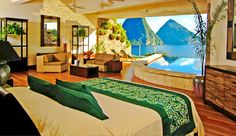Jade Mountain, St Lucia's
