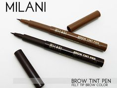 Milani Brow Tint Pen...Comparable to Anastasia brow pen at a fraction of the price.