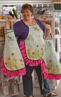Love these aprons!