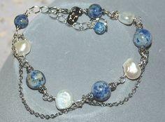 "Armband ""Sweet Blue Moon"""