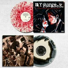 Oh my flipping dolphin I want both these MCR albums on limited edition vinyl!!!