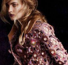 Portrait of a Lady Harper Bazaar UK  by Julia HettaLouis Vuitton   Fall 2012 RTW