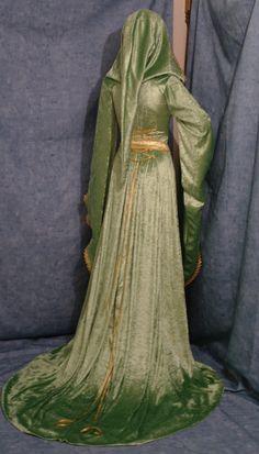medieval renaissance ELVEN FAIRY dress custom by camelotcostumes, $266.00