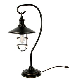 Look what I found on #zulily! Metal Lantern Table Lamp by DEI #zulilyfinds