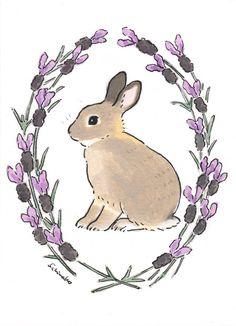 Bunny Painting, Bunny Drawing, Bunny Art, Cute Animal Drawings, Cute Drawings, Rabbit Art, Cute Cartoon Wallpapers, Grafik Design, Surreal Art