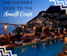 The Insider's Guide to the Amalfi Coast www.teelieturner One of the world's dreamiest destinations, the Amalfi Coast makes for blissful late-spring, summer, and early-fall trips. We're excited to share the best spots to visit in the region, where days begin with breakfast on your terrace overlooking the sea, daytime ventures include tracing the craggy coastline by boat, and lazy evenings start with sunset cocktails and end with alfresco feasts of pasta and seafood.  #newsletter