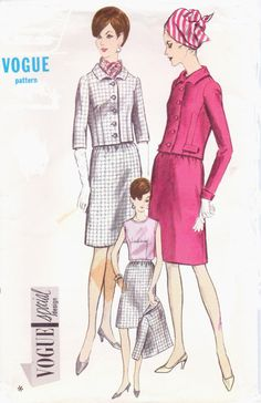 Vintage 60s Vogue Special Design Sewing Pattern by CloesCloset, $21.00