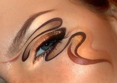 Chocolate swirls in a cocktail – Makeup Geek Idea Gallery Gorgeous Makeup, Love Makeup, Makeup Geek, Makeup Art, Media Makeup, All Things Beauty, Beauty Make Up, Circus Makeup, Plus Populaire