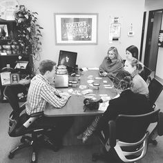 We had a great time with the @newhope360 folks yesterday! Thanks for visiting Jenna Christine Jessie and Deanna!