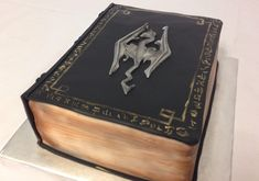 The Book of the Dragonborn cake