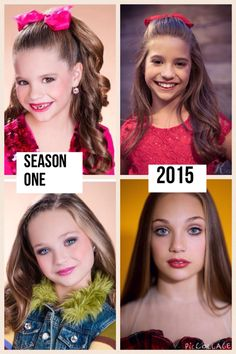 Ziegler girls, then and now! Comment if you want more edits!