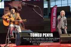 TOMEU PENYA. Festival de los espléndidos Tres Reyes Magos. Organizado por el diario Última Hora en el polideportivo Palma Arena. Mallorca, Islas Baleares, España. Domingo 11 de enero de 2015. Fotografías por: Héctor Falagán De Cabo | hfilms & photography.