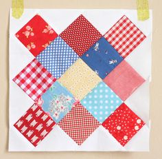 Diary of a Quilter - a quilt blog: Use your fabric scraps!