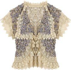 ShopStyle: One Vintage Raizel vest