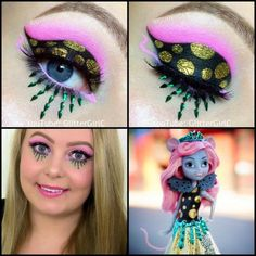Monster High Boo York Boo York Mouscedes King makeup. Youtube channel: full.sc/SK3bIA