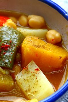 Alboronia, Andalusian vegetable stew #recipe #SpanishFood