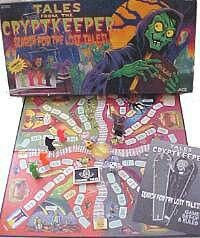 Board game Crypt Keeper Tales From the Crypt via shared by Tales From The Crypt, Board Games, Role Playing Board Games, Tabletop Games, Folder Games