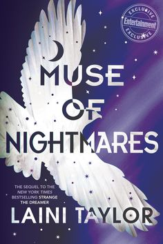 US #CoverReveal Muse of Nightmares (Strange the Dreamer, #2) by Laini Taylor