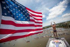 The Red Bull Cliff Diving World Series 2016 kicks off for men and women in Texas. Bull Tv, Diving World, Cliff Diving, Event Page, Red Bull, Kicks, Texas, Peace, Journal