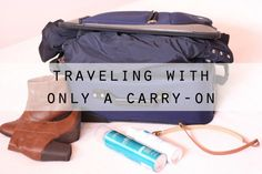 How to pack your carry-on tips. I'm traveling for a month with my capsule wardrobe and essentials in only a carry-on