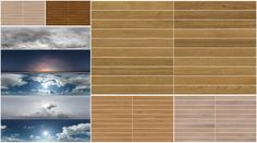 A collection of 5 Skies HDRi's and 5 Wooden Floor Textures (each provided as high resolution individual planks, from 19 to 62 depending on the texture) by CG-Source. Wooden Floor Texture, Vray Tutorials, Planks, Wooden Flooring, Software, Photoshop, Graphics, Sky, Content